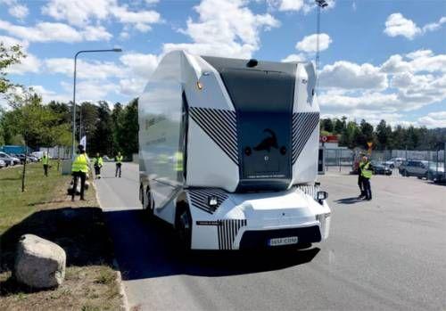 BET365无人驾驶电动卡车已经上路运货