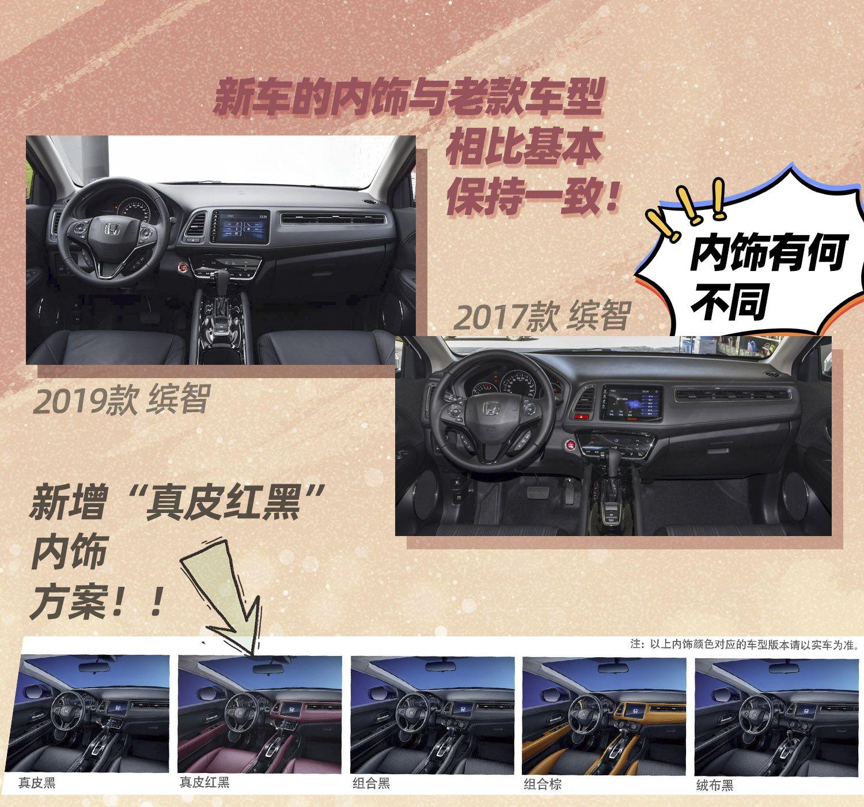 除动力外 广汽本田新款缤智还改了哪里?