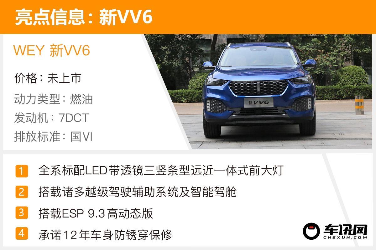 掌视科技:升级后配置更加逆天 静态体验WEY 新VV6