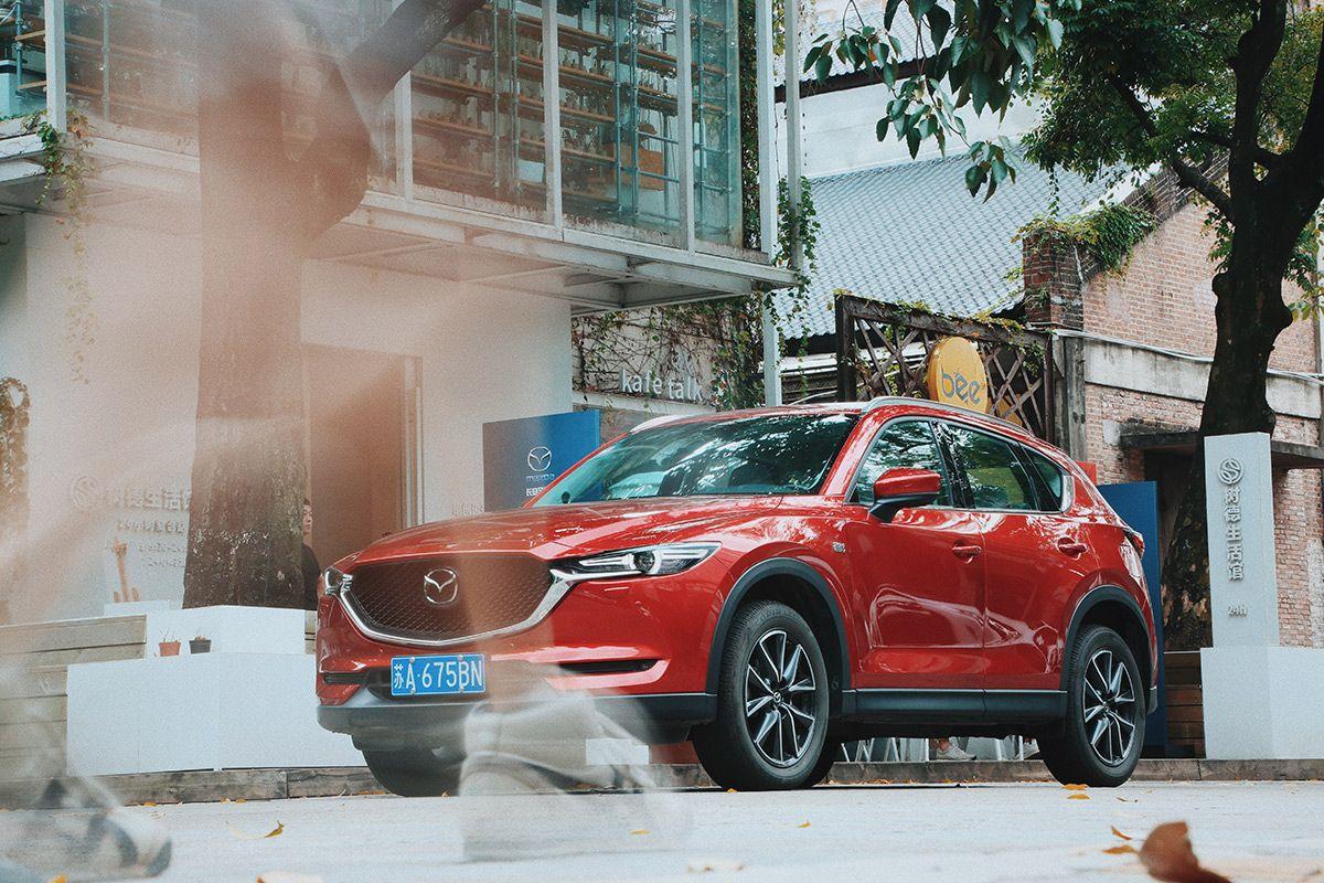 第二代Mazda CX-5打卡广州 变身城市体越来越发觉自己验官