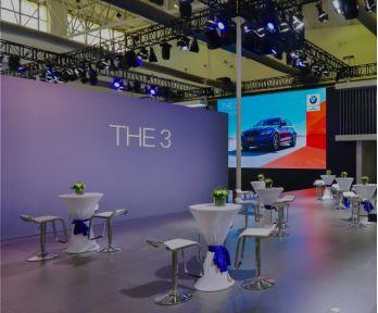 全新 BMW 3系激情亮相长春国际车展