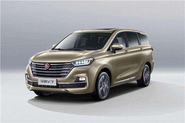 售价7.99万-13.59万 汉腾MPV V7正式上市_车讯网chexun.com-车讯网
