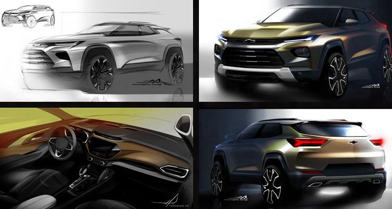 雪佛兰全新SUV创界Trailblazer设计解读