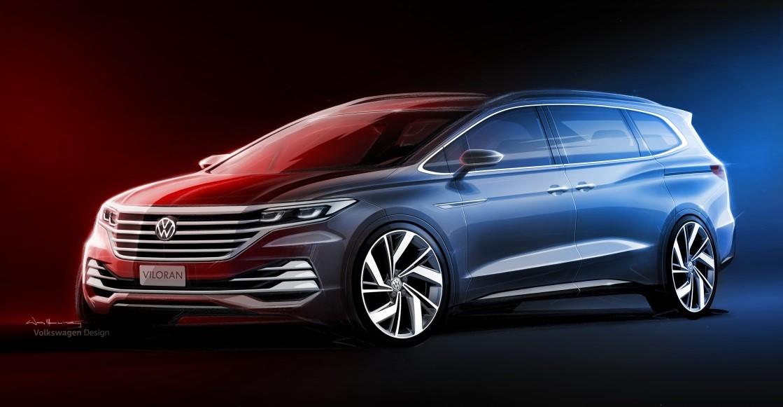 上汽大众首款大型豪华商务MPV Viloran广州车展亮相前瞻