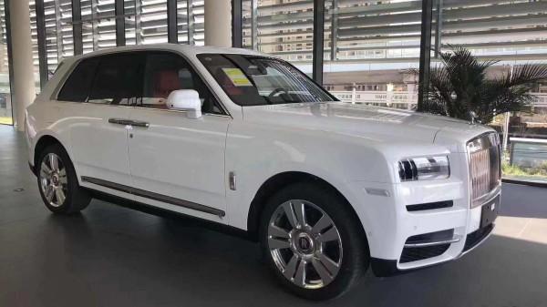 2019款劳斯莱斯库里北豪车界的SUV标杆定义