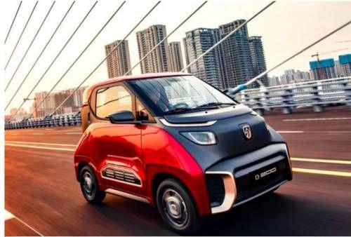 宝骏E200电动汽车,实用出彩性能满分的代步出行神器