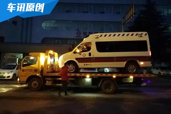 紧急驰援 共赴时艰 东风御风救护车深夜驰援武汉