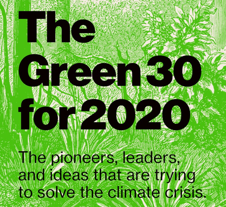 彭博社发布2020全球30位环保先锋榜  王传福、比尔?盖茨位列其中