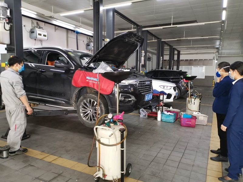 抗疫路上的同行者 哈弗SUV广州为众新塘店正式复工复产