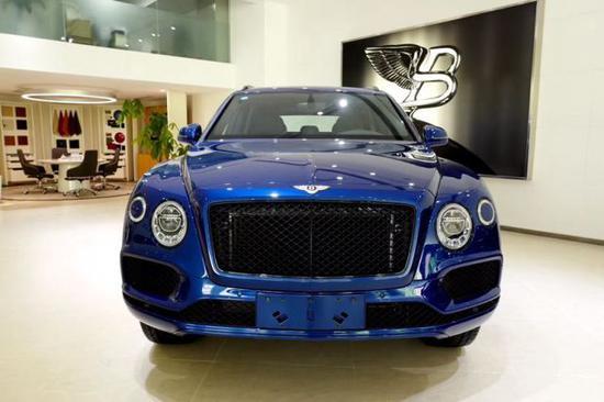 2020新款宾利添越V8现车 彰显奢华 _车讯网chexun.com-车讯网