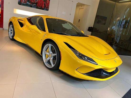 法拉利F8现车价格红色黄色免豪车税提车