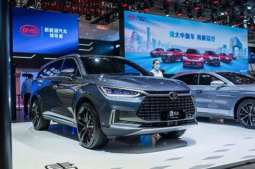 刀片电池、565km续航、顶级豪华气场,北京车展新能源车就看它!