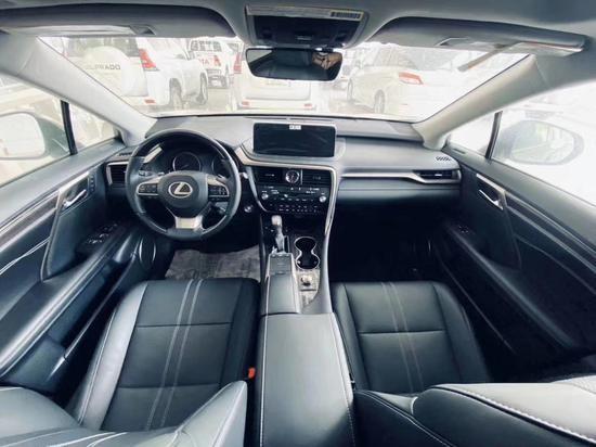 20款雷克萨斯RX350顶配现车动机大爆发