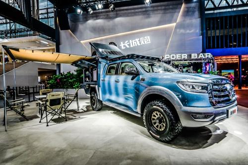 长城皮卡2020年全球销量突破20万辆 越野炮拖挂版上市