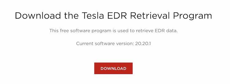 特斯拉发布EDR数据恢复套装,帮助用户读取爱车「黑匣子」